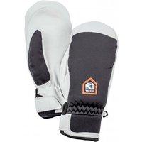 Hestra - Women's Moje CZone Mitt - Gloves size 8, grey/black