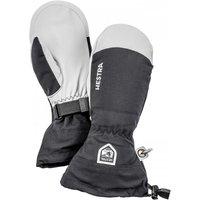 Hestra - Army Leather Heli Ski Mitt - Gloves size 10, black/grey
