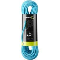 Edelrid - Boa 9,8 mm - Einfachseil Gr 40 m türkis/blau