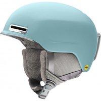 Smith - Women's Allure MIPS - Ski helmet size 51-55 cm, grey/turquoise