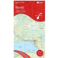 Nordeca - Wander-Outdoorkarte: Nordli 1/50 - Wanderkarte Auflage 2014