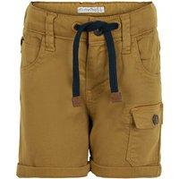 Minymo - Boy's Shorts Twill - Shorts size 80, brown