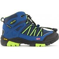 Trollkids - Kids Lofoten Hiker Mid - Wanderschuhe Gr 29;30;31;32;35 blau;grau/schwarz*