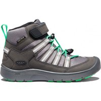 Keen - Youth Hikeport 2 Sport Mid WP - Multisport shoes size 7, black/green