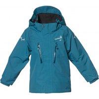 Isbjorn - Kid's Storm Hard Shell Jacket - Waterproof jacket size 122/128, blue/turquoise
