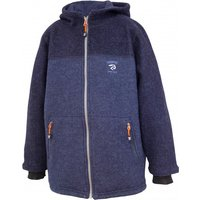 Ivanhoe of Sweden - Kid's Block Pockets - Wool jacket size 110, blue/black