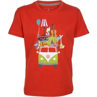 Elkline - Kid's Huckepack - T-shirt size 140/146, red