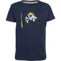 Elkline - Kid's Seaworld - T-shirt size 140/146, black/blue