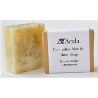 Acala Cucumber, Aloe and Lime Soap