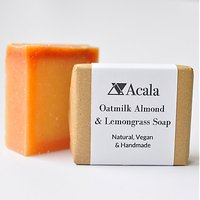 Acala Oatmilk, Almond and Lemongrass Soap