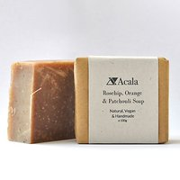 Acala Rosehip, Orange and Patchouli Soap