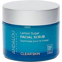 Andalou Lemon Sugar Facial Scrub