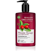 Image of Avalon Organics Wrinkle Therapy Cleansing Oil with CoQ10 & Rosehip