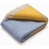 Atlantic Blankets 100% Wool Blanket - Dawn Tides