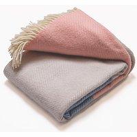 Atlantic Blankets 100% Wool Blanket - Dusk Tides
