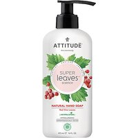 Attitude Super Leaves Natural Hand Soap - Red Vine Leaves