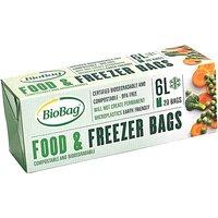 BioBag food and freezer bags - 6 litre