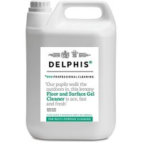 Delphis Eco Professional Floor and Surface Gel Cleaner 5L refill