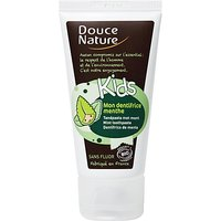 Douce Nature Kids Toothpaste - Mint Without Flouride