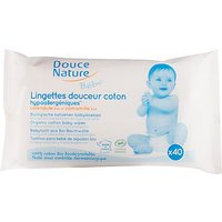 Douce Nature Biodegradable Baby Wipes