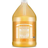 Dr. Bronner's Citrus Orange Castile Liquid Soap - 3.8L