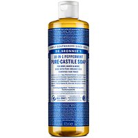 Dr. Bronner's Peppermint Castile Liquid Soap - 473ml