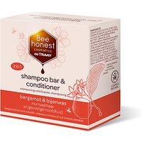 De Traay Bee Honest Shampoo and Conditioner Bar - Bergamot