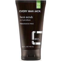 Every Man Jack Face Charcoal Scrub - Fragrance Free