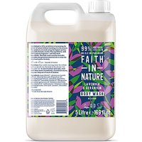 Faith in Nature Lavender & Geranium Body Wash - 5L