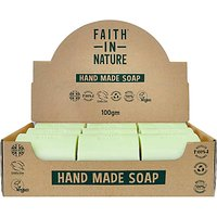 Faith in Nature Box of 18 Unwrapped Natural Hand Made Aloe Vera Soaps