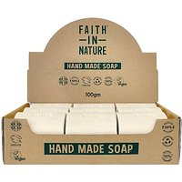 Faith in Nature Box of 18 Unwrapped Natural Hand Made Tea Tree Soaps