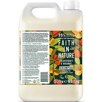 Faith in Nature Grapefruit & Orange Shampoo - 5L