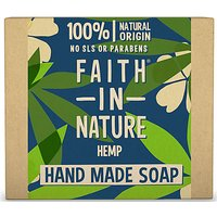 Faith in Nature Hand Made Hemp Soap (Hemp)
