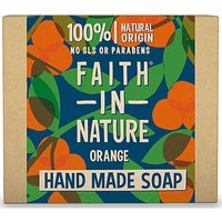 Faith in Nature Hand Made Orange Soap (Orange)