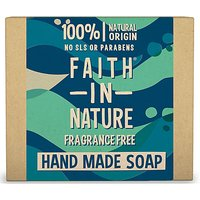 Faith in Nature Hand Made Fragrance Free Soap (Unfragranced with Wi...