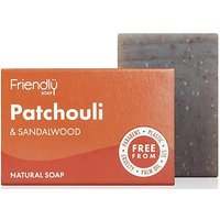 Friendly Soap Bath Soap - Patchouli and Sandalwood