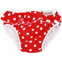 ImseVimse Swim Pants - Red Dots with a frill (XL 11 - 14 kg)
