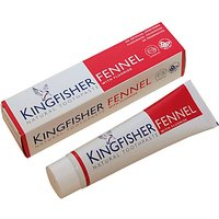 Image of Kingfisher Fennel Toothpaste - With Fluoride