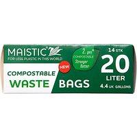 Maistic 2.Gen Compostable Waste Bag 20Ltr (14)