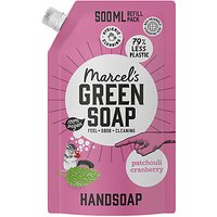 Marcels Green Soap Hand Soap Patchouli and Cranberry 500ml R