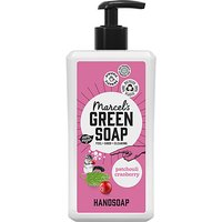 Marcels Green Soap Patchouli and Cranberry Hand Soap 500ml