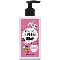 Marcel's Green Soap Hand Soap Patchouli & Cranberry