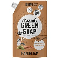 Marcels Green Soap Hand Soap Sandalwood and Cardamom 500ml Refill