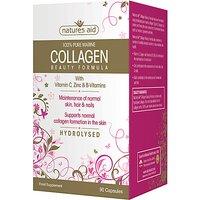 Natures Aid Collagen Beauty Formula - 90 capsules