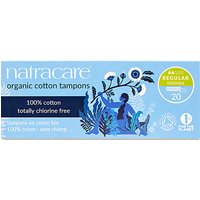 Natracare Organic Cotton Tampons (packs of 20) (Super (20))