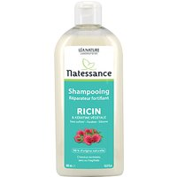 Image of Natessance Fortifying Repairing Shampoo with Castor Oil and Keratin...