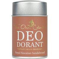 The Ohm Collection Deodorant Powder - Sandalwood - 120g