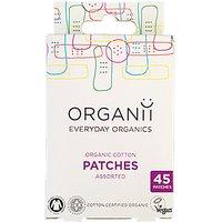 Organii Organic Cotton Plasters - 45s Mixed sizes