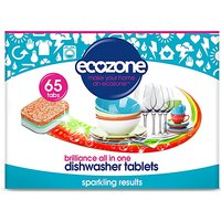 Ecozone Brilliance All In One Dishwasher Tablets