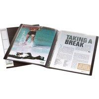 DURABLE Sichtbuch DURALOOK, A4, mit 50 Sichthüllen, schwarz
